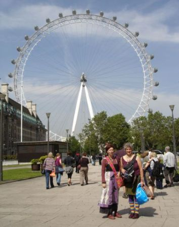 london-eye-background