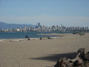 Vancouver beach front