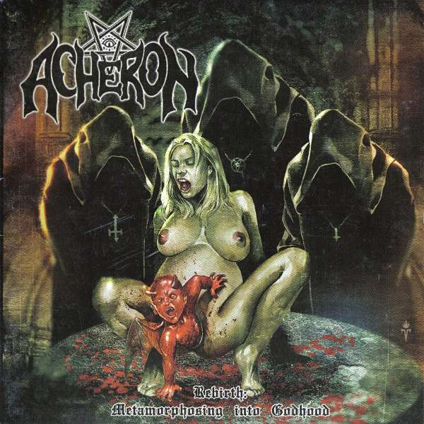 Acheron - Rebirth - Album Cover
